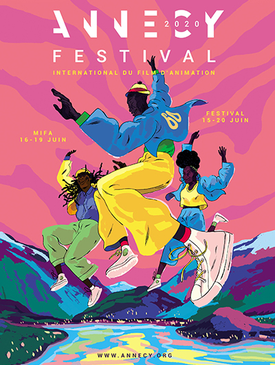 Affiche Festival International du Film d'Animation Annecy 2020