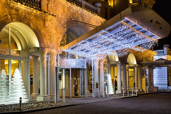 Menu Festif noel Impérial Palace Annecy